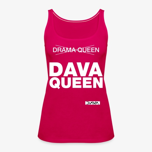 DAVA Queen - white - Women's Premium Tank Top