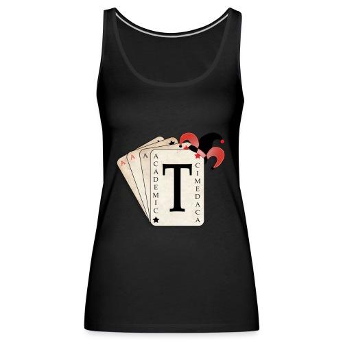 Academic Trickster - Women's Premium Tank Top