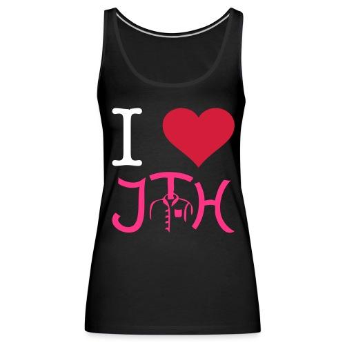 I Love JTH - Frauen Premium Tank Top