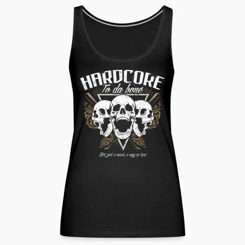 HC To Da Bone - Women's Premium Tank Top