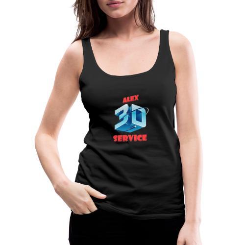 logo emporesa de impresion 3d en albacete - Camiseta de tirantes premium mujer
