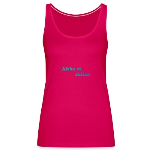 Notre logo - Débardeur Premium Femme