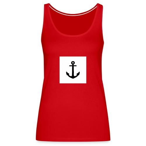 hoodie met anker - Vrouwen Premium tank top