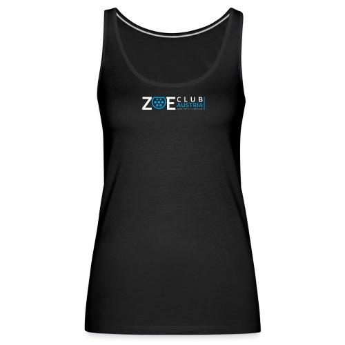 ZOE Club Austria QUERWHIT - Frauen Premium Tank Top