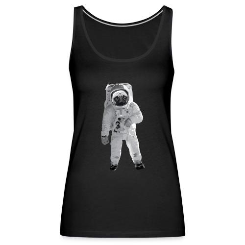 Space-Mops Astronaut Hund - Frauen Premium Tank Top