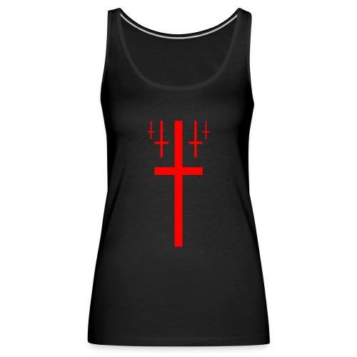 cross christus god jesus - Women's Premium Tank Top