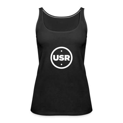 Unique Sessions Radio White Logo 2020 - Women's Premium Tank Top