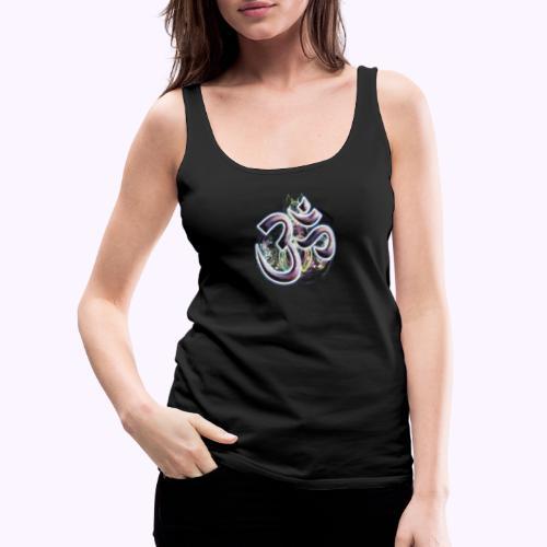 Fractal Om - Camiseta de tirantes premium mujer