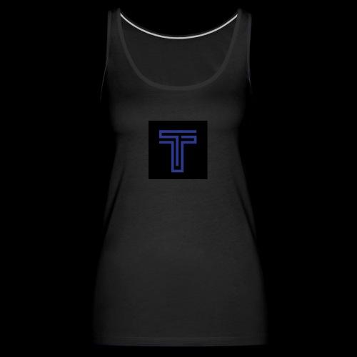 YT logo design - Women's Premium Tank Top