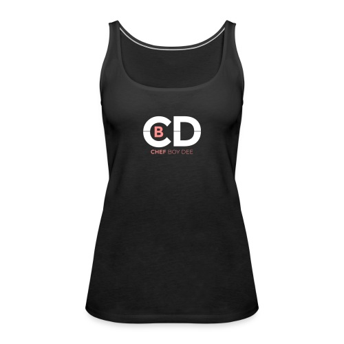 Logo Chef Boy Dee 2c - Frauen Premium Tank Top