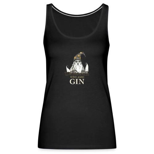 Wichtelmann Wine Aged Gin Desing - Frauen Premium Tank Top