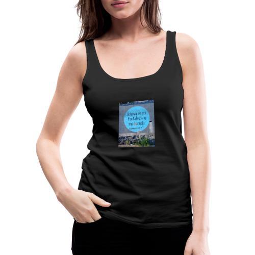 Salmo 28 7 - Camiseta de tirantes premium mujer