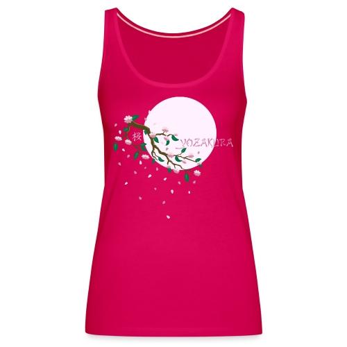 Cherry Blossom Festval Full Moon 1 - Frauen Premium Tank Top