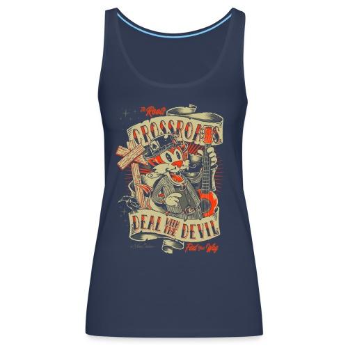 Cruce - Camiseta de tirantes premium mujer