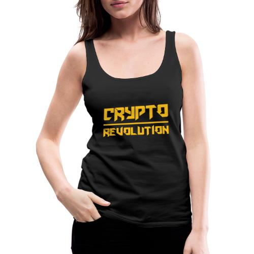 Crypto Revolution III - Women's Premium Tank Top