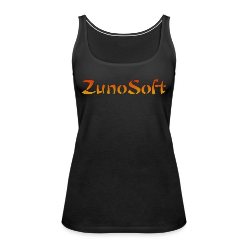 ZunoSoft Logo - Women's Premium Tank Top
