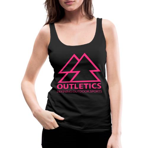 outletics denim - Frauen Premium Tank Top