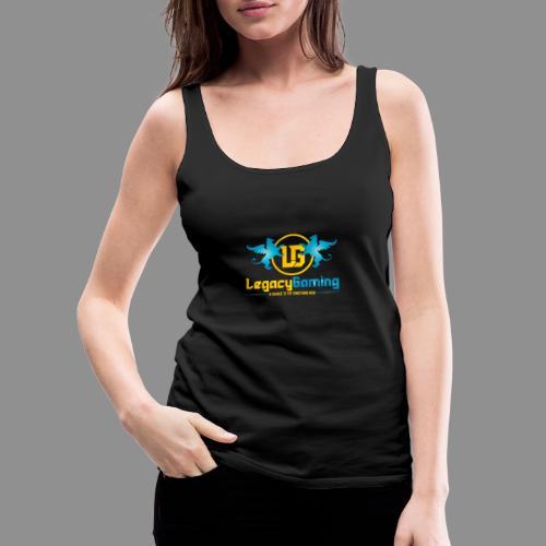 1 Logo - Women's Premium Tank Top