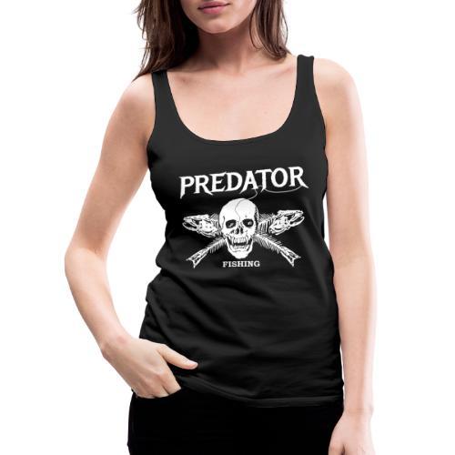 Predator Fishing T-Shirt - Frauen Premium Tank Top
