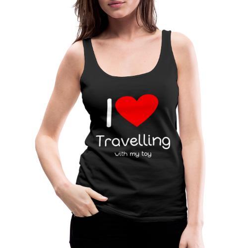 Spielzeug Reisen ToyVoyaging Shirt Geschenk - Frauen Premium Tank Top