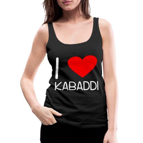 Kabaddi Kabadi Sportart India Südasien Shirt Gesch - Frauen Premium Tank Top
