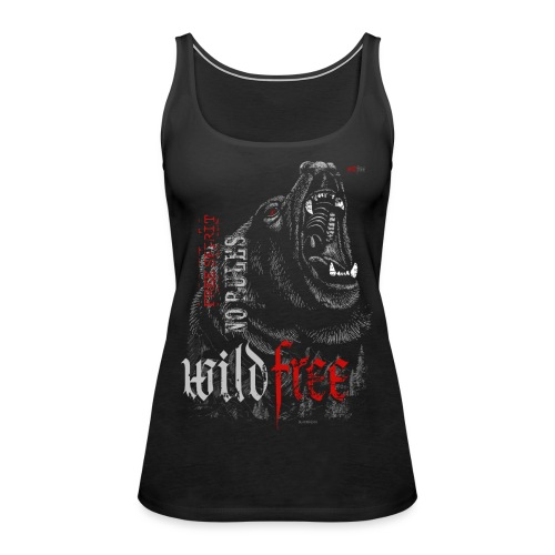 WILDFREE | BEAR - Frauen Premium Tank Top