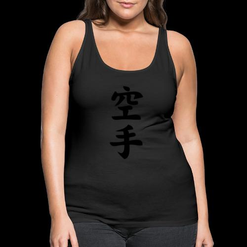 karate - Tank top damski Premium