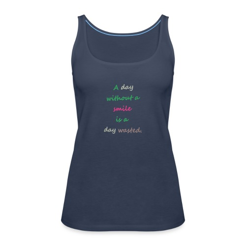 Say in English with effect - Women's Premium Tank Top