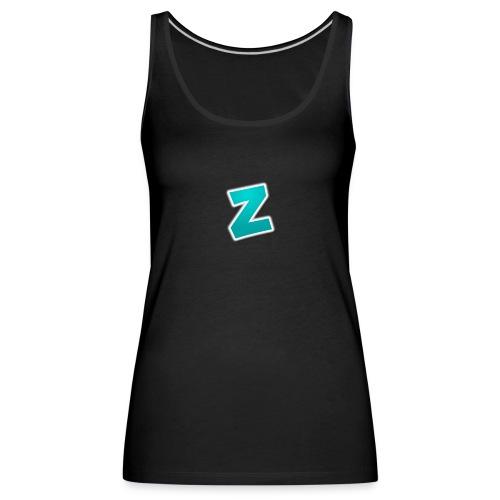 Z3RVO Logo! - Women's Premium Tank Top