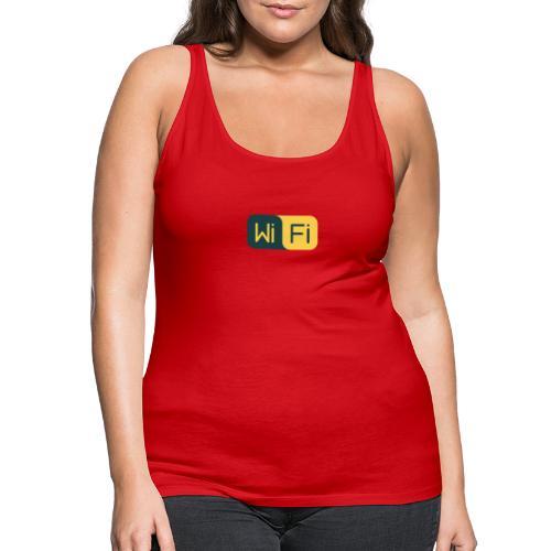 wifi signal - Camiseta de tirantes premium mujer