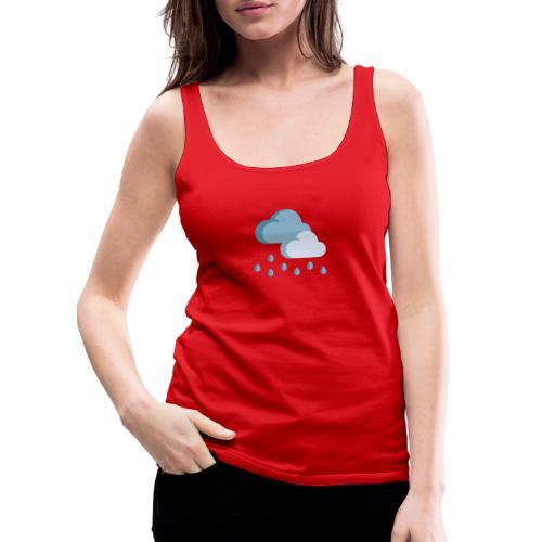 lluvia - Camiseta de tirantes premium mujer