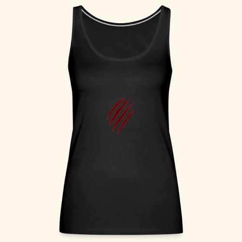 garras - Camiseta de tirantes premium mujer