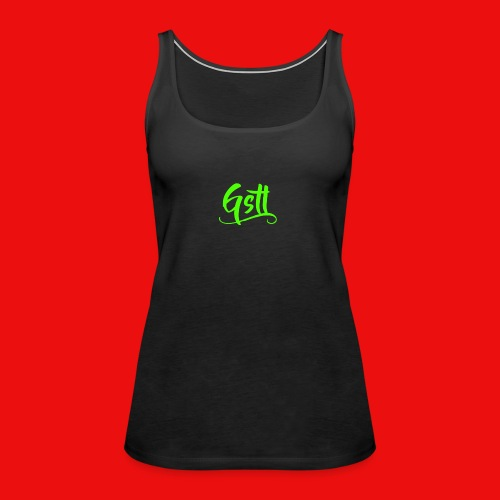 Gstl_Logo_-Green- - Women's Premium Tank Top