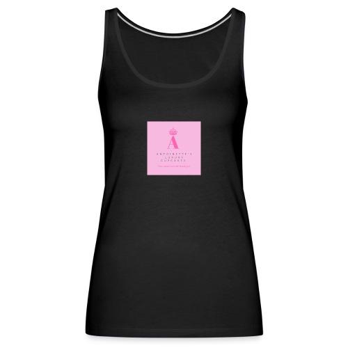 Womens white cupcake T-shirt - Women's Premium Tank Top
