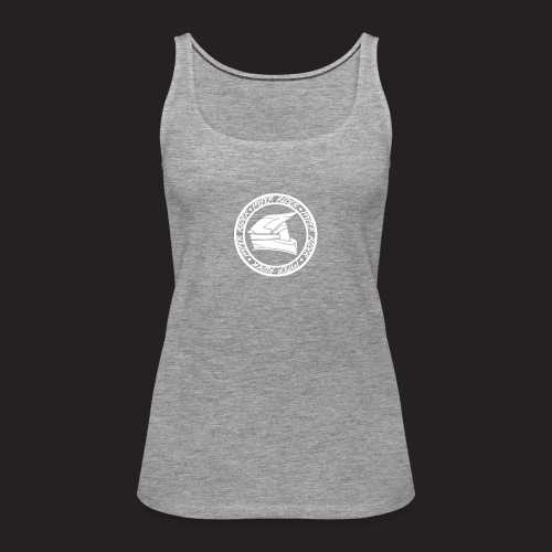 500hr white - Frauen Premium Tank Top