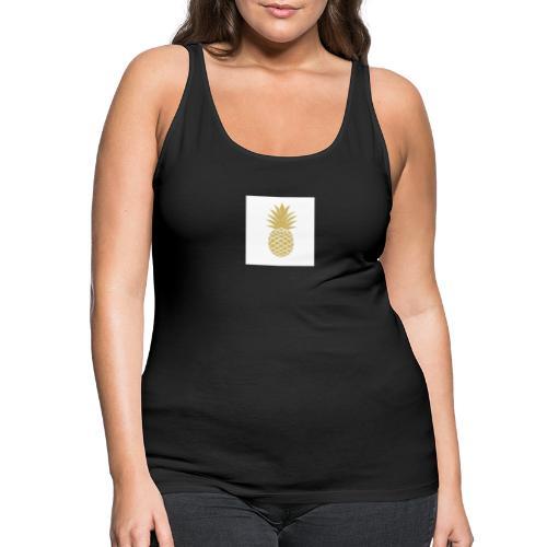T-shirt avec ananas sur le côté - Débardeur Premium Femme