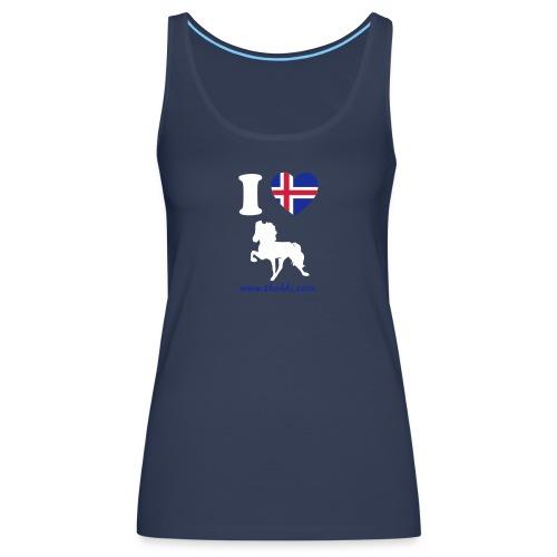 i love toelt - Frauen Premium Tank Top