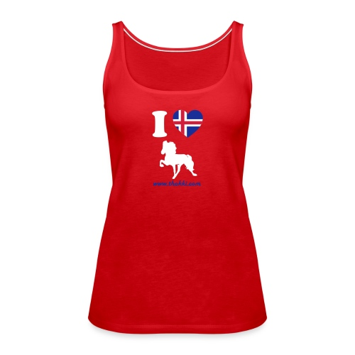 i love toelt - Frauen Premium Tank Top