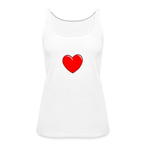 Love shirts - Vrouwen Premium tank top