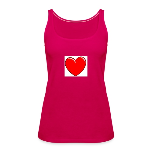 Love shirts - Vrouwen Premium tank top