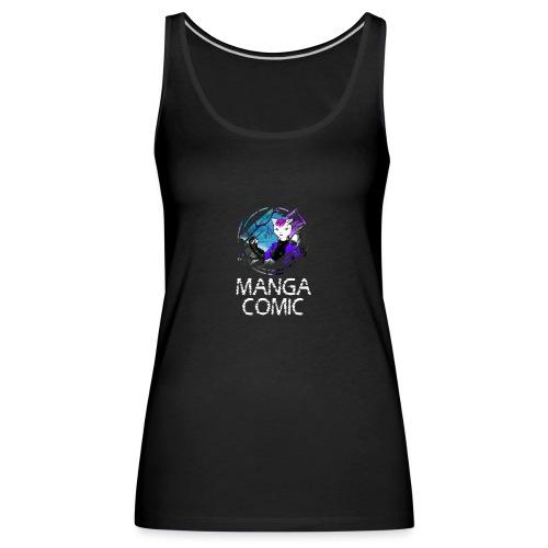GATA MANGA - Camiseta de tirantes premium mujer