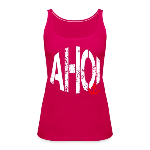 LIMITED AHOI Schriftzug - Frauen Premium Tank Top