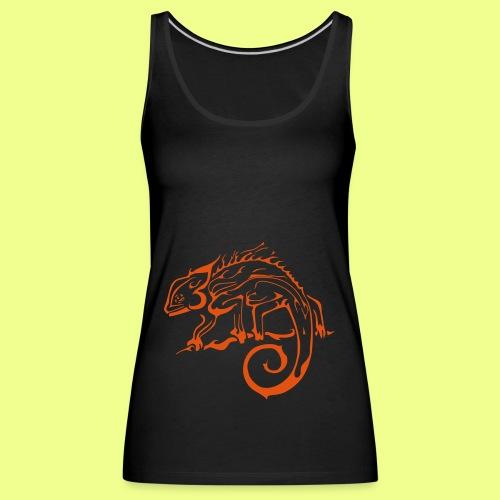 iguana - Camiseta de tirantes premium mujer