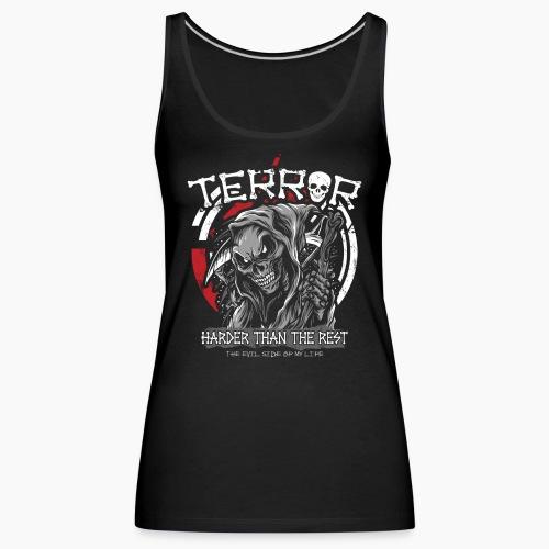 Terror - Harder Than The Rest - Women's Premium Tank Top