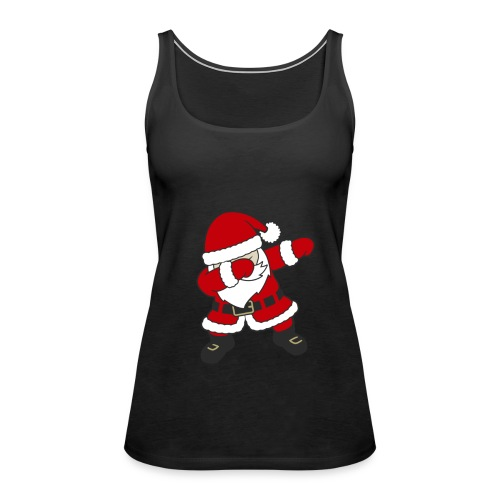 Dab Dabbing Trend Santa Claus Weihnachtsmann Logo - Frauen Premium Tank Top