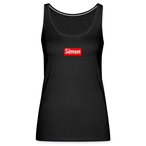 simon - Canotta premium da donna
