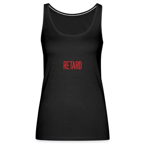 Retard Klær - Premium singlet for kvinner