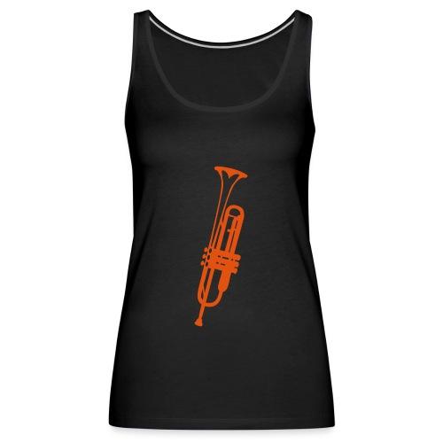 trompette instrument musique 2410 - Débardeur Premium Femme