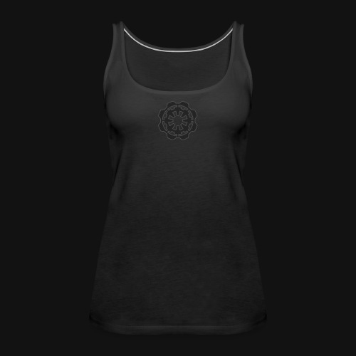 DarkerImage Black on Black (LIMITED) - Women's Premium Tank Top