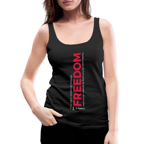 La liberté - Débardeur Premium Femme